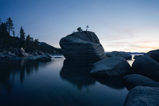 Free stock photo of landscape, nature, sunset, water