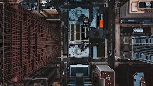 Gratis stockfoto met afgelegen, antenne, appartement, architectuur