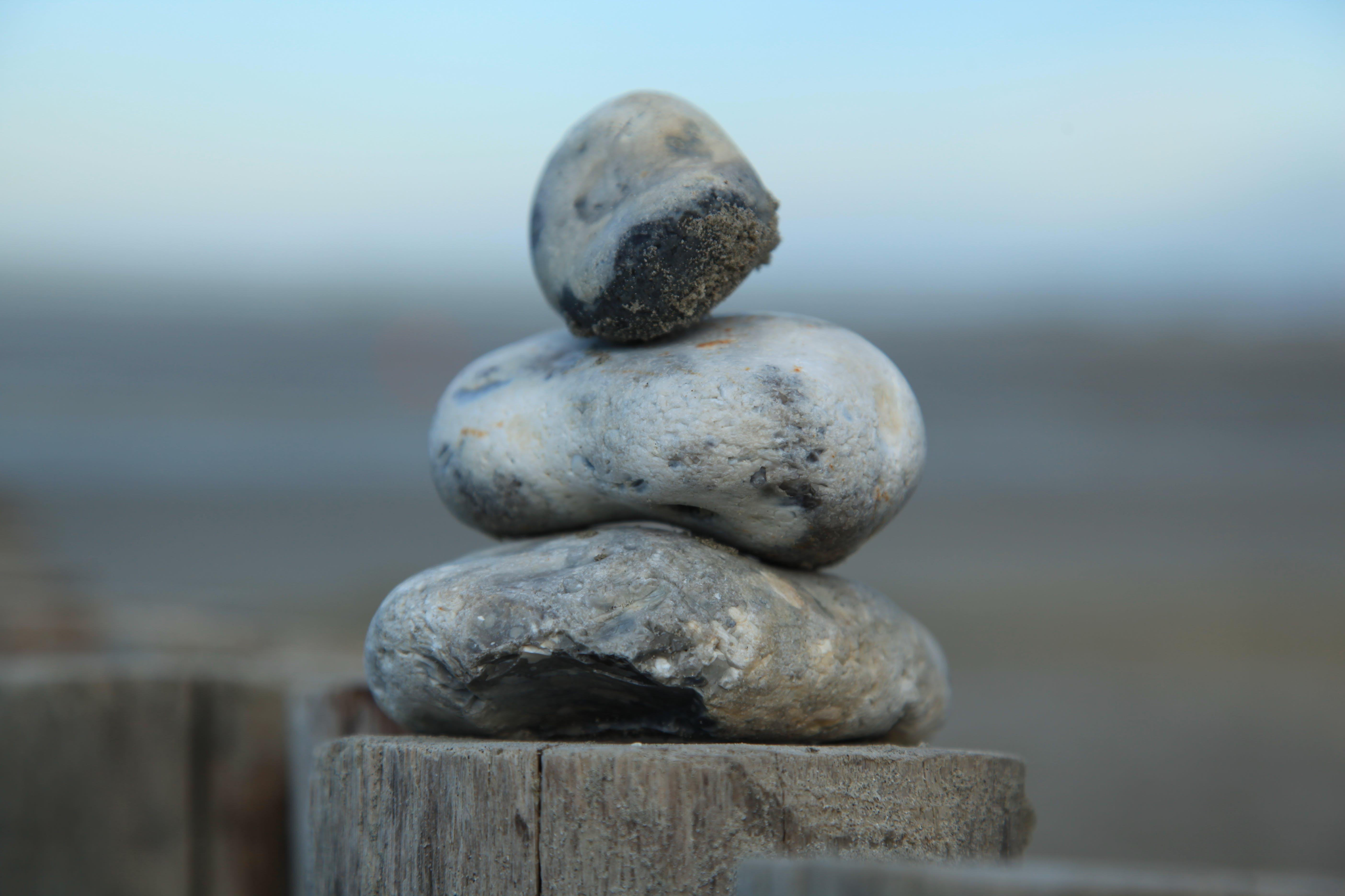 Free stock photo of beach, stones, zen