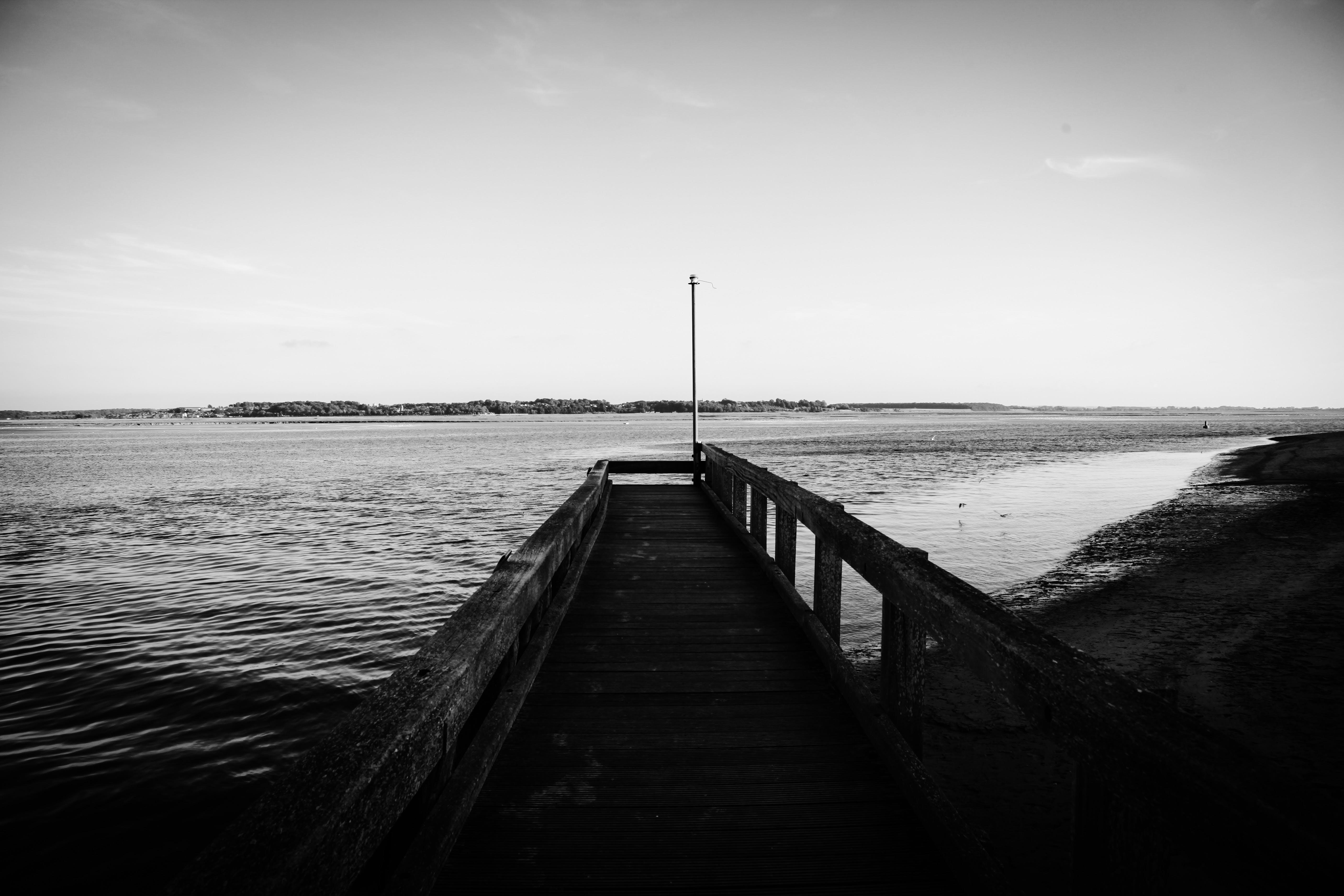 Free stock photo of bridge, sea