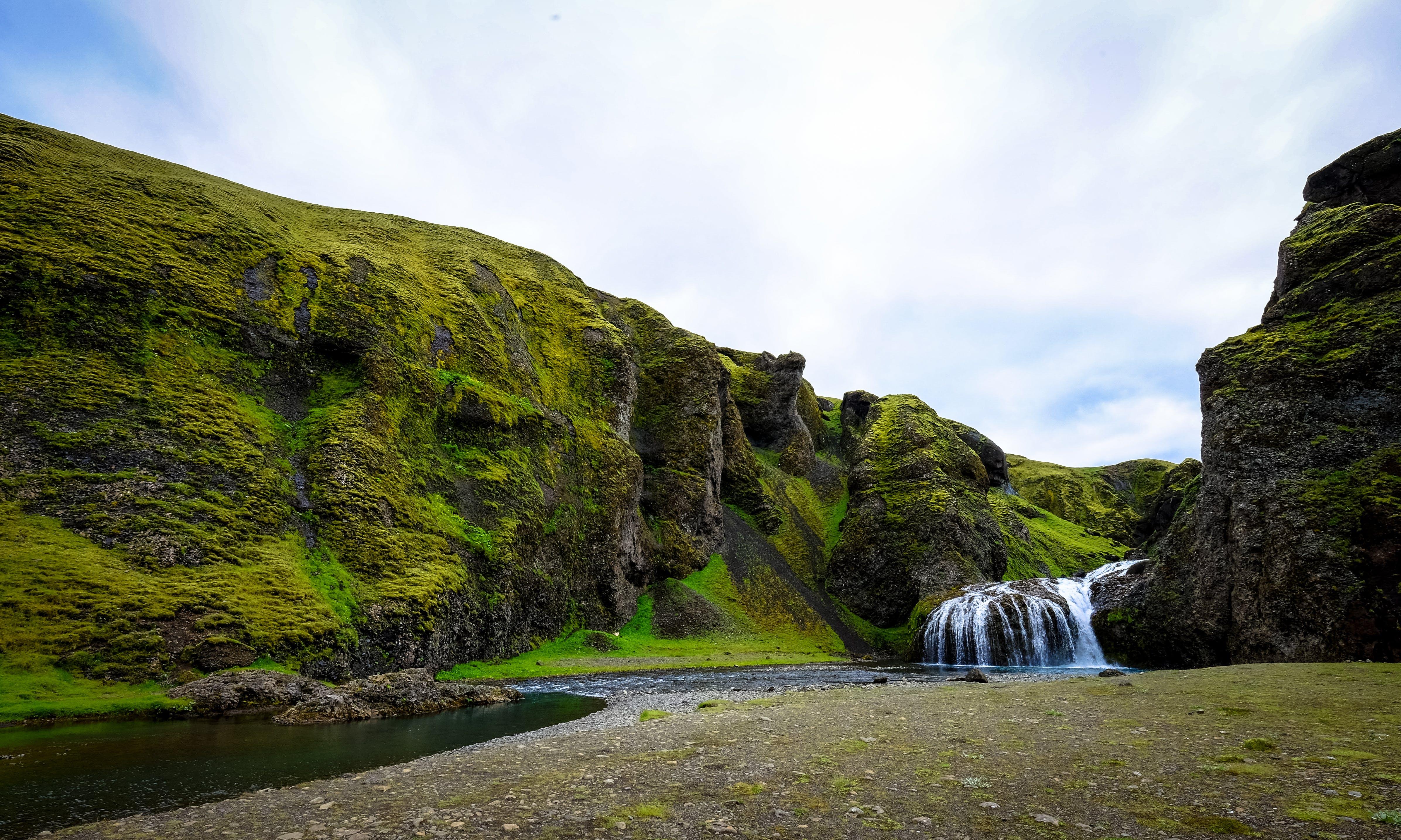 Waterfalls and Dirt