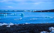 cold, iceberg, sea