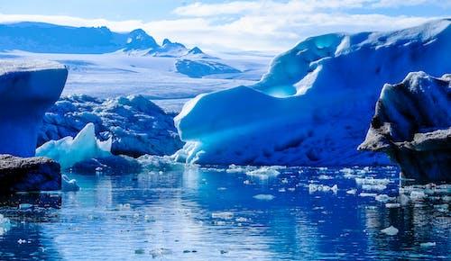 Iceberg on Body of Water Digital Wallpaper