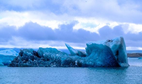 Nature wallpaper of cold, iceberg, melting, sea