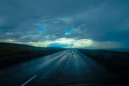 Free stock photo of road, landscape, clouds, cloudy