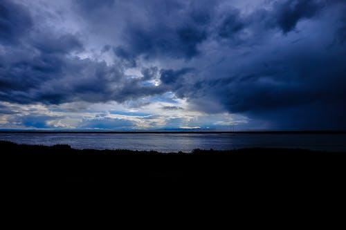 Základová fotografie zdarma na téma bouře, moře, mraky, oblačno