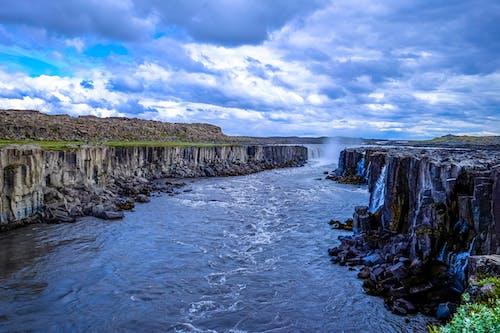 岩, 岸, 日光, 水の無料の写真素材