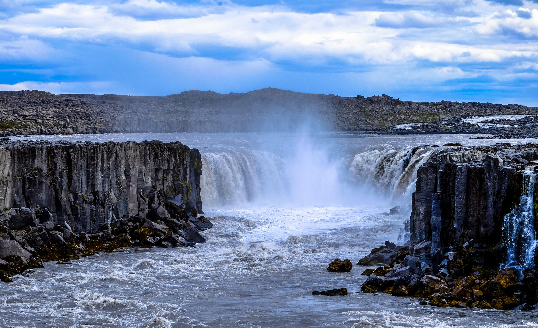Foto d'estoc gratuïta de aigua, cascada, cascades, cel