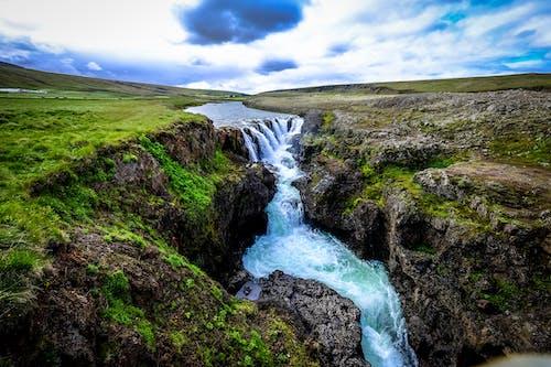 Foto d'estoc gratuïta de aigua, cascada, corrent, exposició llarga