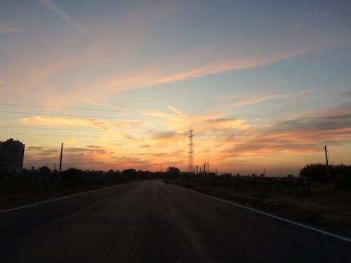 Free stock photo of beautiful sky, beauty of nature, street