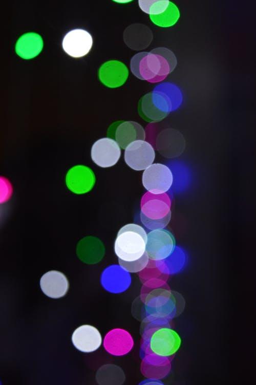 Free stock photo of bokeh, city night, colorful lights