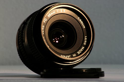 Безкоштовне стокове фото на тему «Canon, кришка об'єктива, об'єктив, Фототехніка»