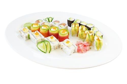 Foto profissional grátis de alface, alimento, almoço, atum