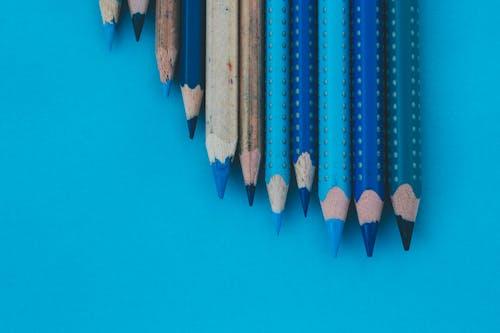 Gratis stockfoto met anders, balpen, blauw, kleuren