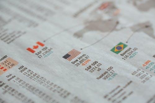 Gratis stockfoto met aandeel, aantal, administratie, bedrijf