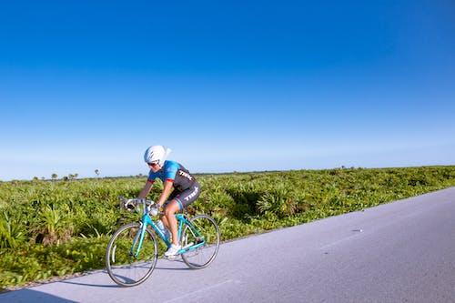 Základová fotografie zdarma na téma jezdec na kole, jízda na kole, kolo