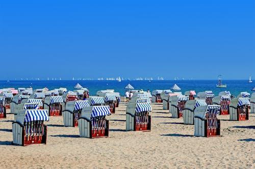 Gratis lagerfoto af ferie, folk, hav, mønster