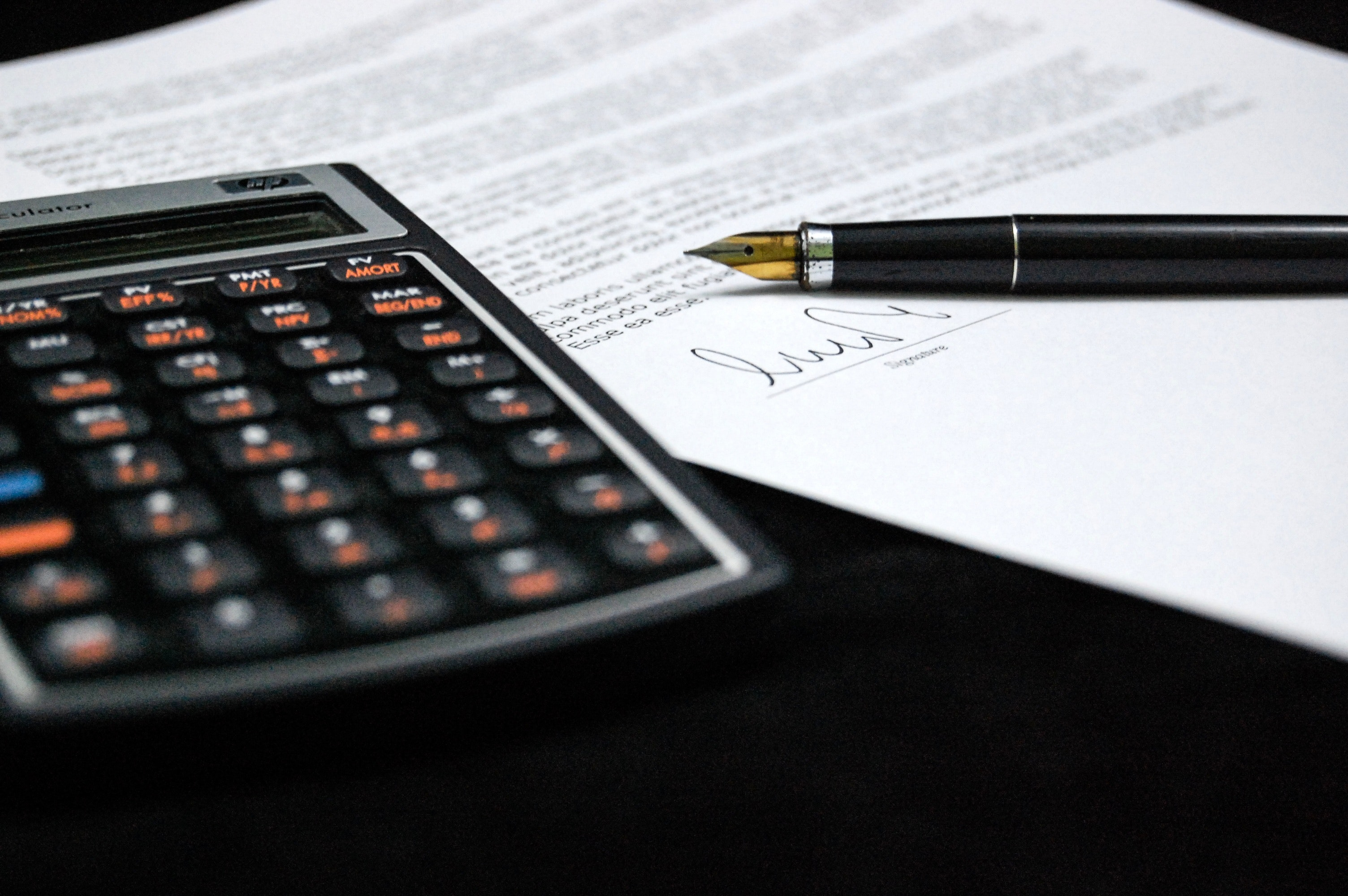 Free Stock Photo Of Agreement Business Calculator