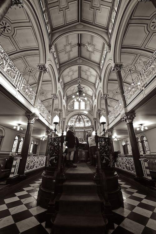 Darmowe zdjęcie z galerii z architektura, brighton, budynek, czarno-biały