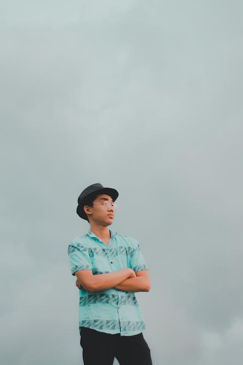 Fedora, 不情緒化, 人, 信心 的 免費圖庫相片