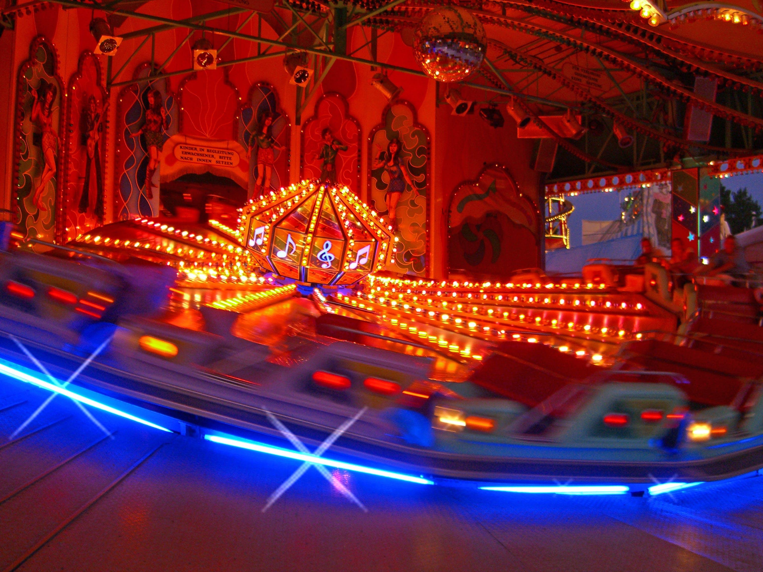 Gratis stockfoto met beweging, carnaval, carrousel, discobal