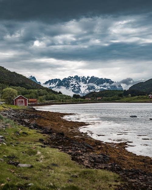 landskap, 강, 경치, 구름의 무료 스톡 사진