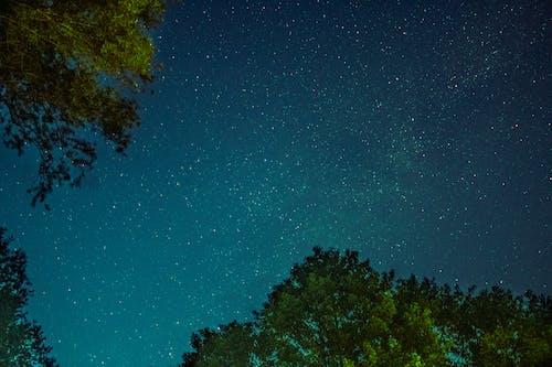 Free stock photo of droga mleczna, gwiazdy, noc, nocne niebo