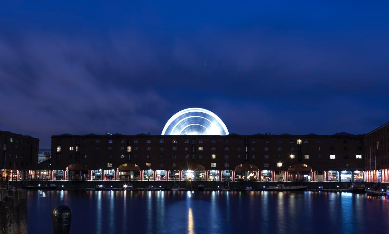 aften, Albert Dock, arkitektur