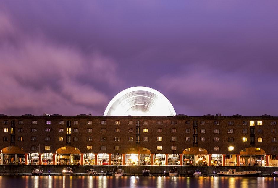 Albert Dock, architecture, buildings