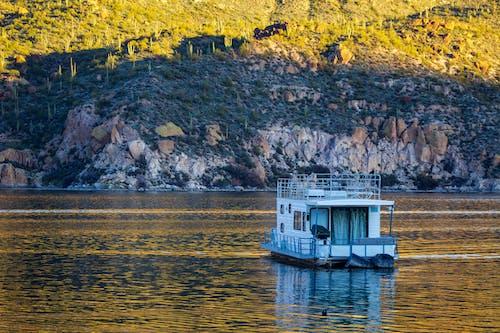 Free stock photo of apache lake, arizona, boat