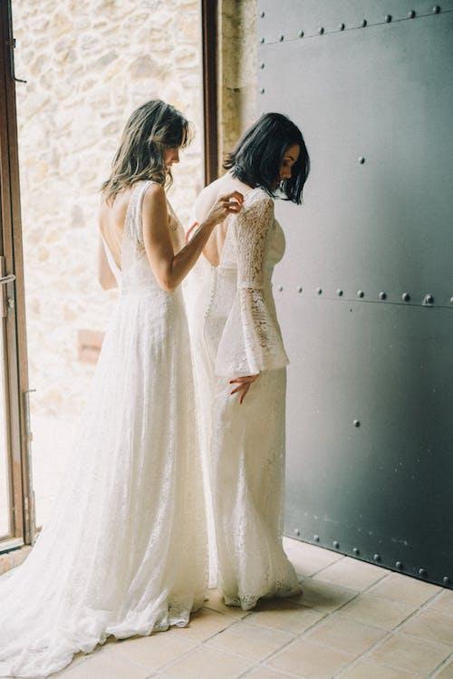 คลังภาพถ่ายฟรี ของ การแต่งงาน, ของเจ้าสาว, คน
