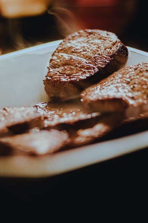 Free stock photo of almoço, apresentação de pratos, bem preparado