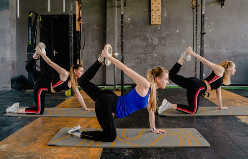 Photo of Women Doing Yoga