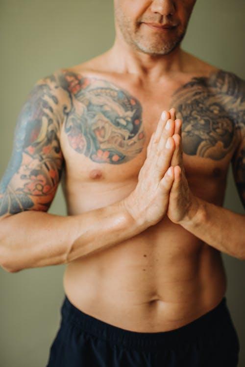 Immagine gratuita di addome, adulto, allenamento domestico, atleta
