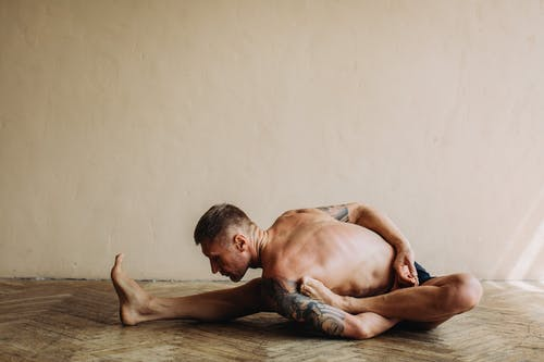 Photo of Man Doing Yoga