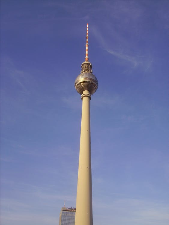 Alexanderplatz, alto, berlino