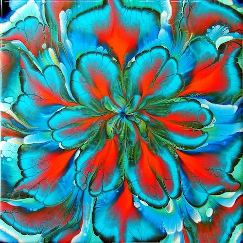 Foto d'estoc gratuïta de abstracte, acrílic, art, art abstracte
