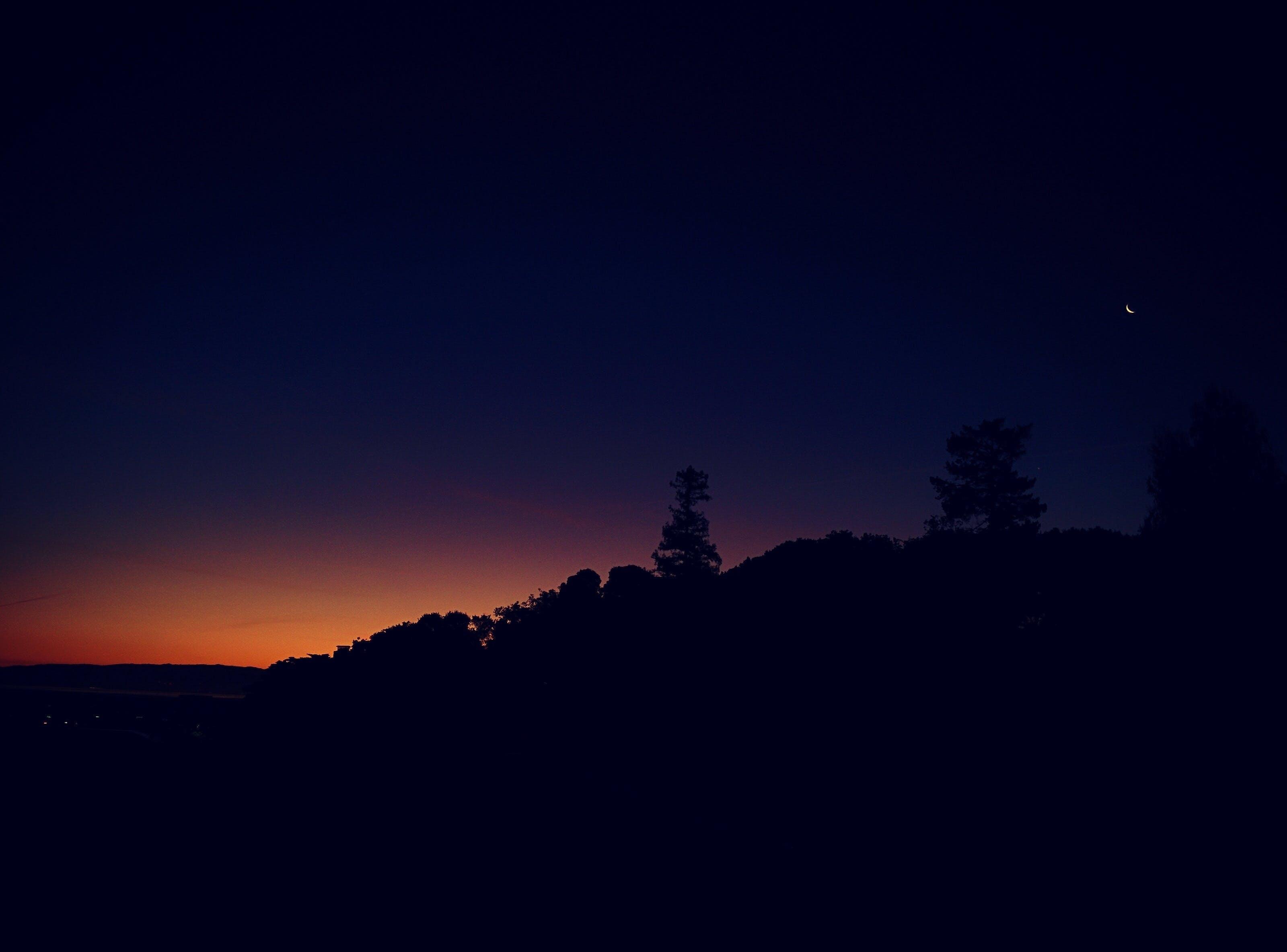 Free stock photo of dark, nature, night, nightscape