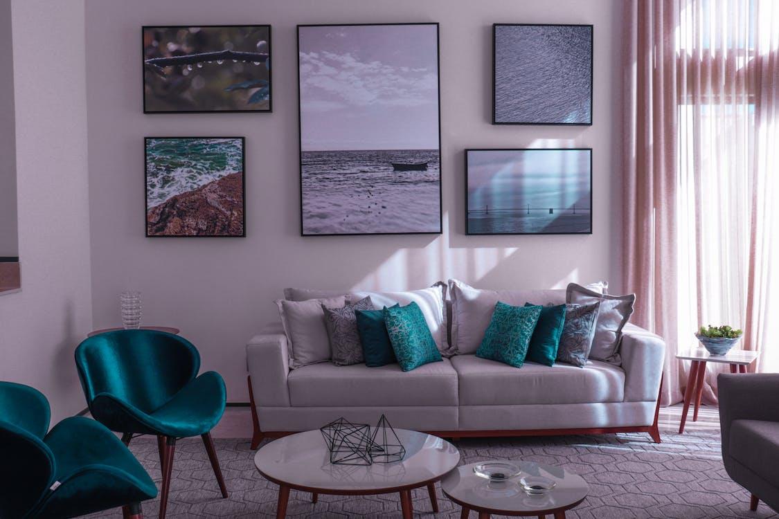Photo Of White Sofa
