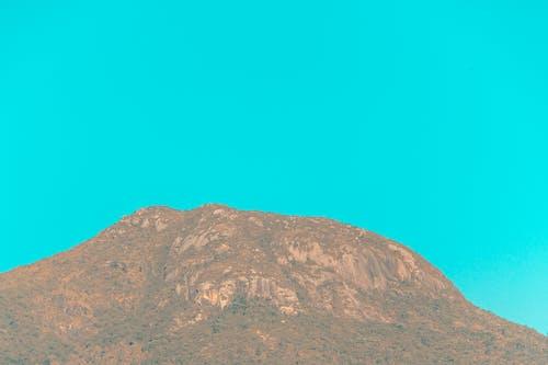 Ingyenes stockfotó kék ég, kék hegyek, óriási hegyek témában