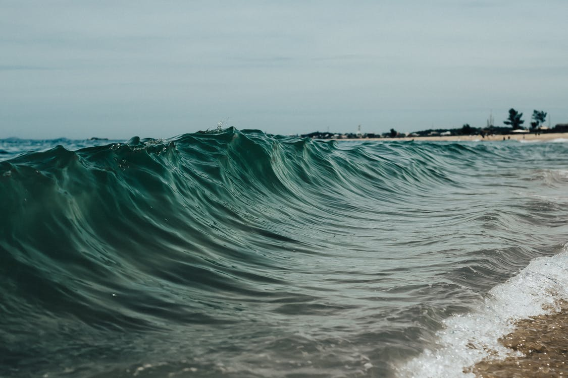 Photo Of Waves During Daytime