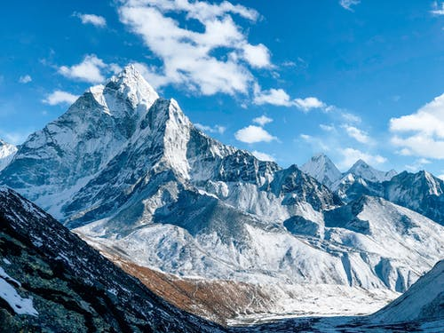 Photo Of Snow Covered Mountains