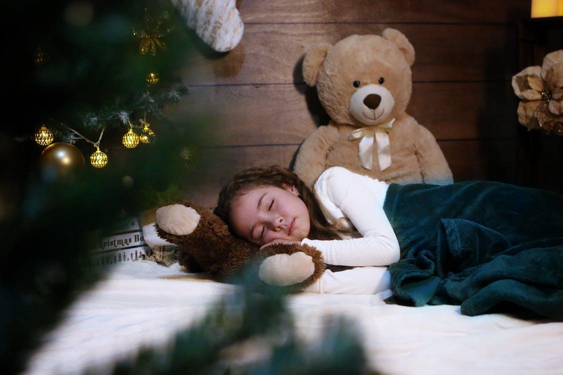 Photo Of Sleeping Girl