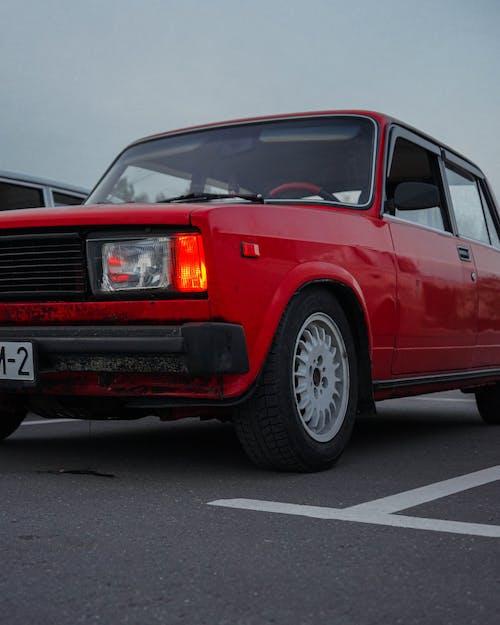 A Bumper of a Red Car