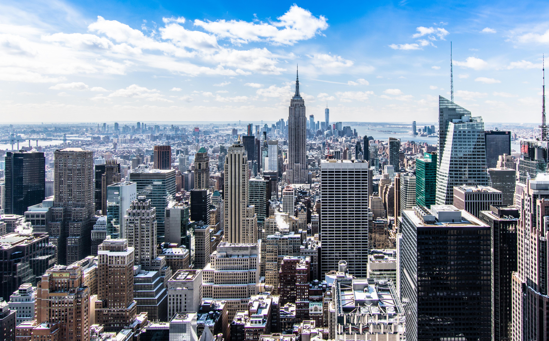 Hintergrund new york city