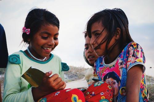 귀여운, 그룹, 기쁨의 무료 스톡 사진