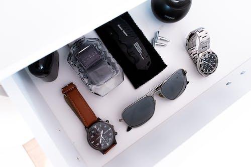 Free stock photo of black, blackandwhite, drawer, knife
