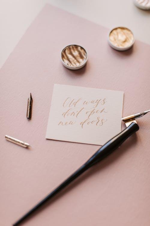 Kostnadsfri bild av anteckning, anteckningar, bokstäver, citat