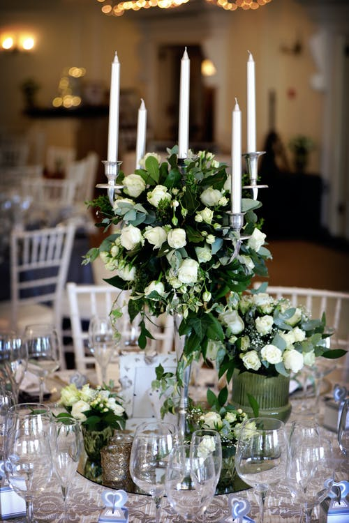 Close-Up Photo Of Table Setting