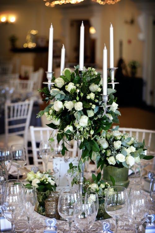 Darmowe zdjęcie z galerii z bankiet, bukiet kwiatów, catering, dekoracja